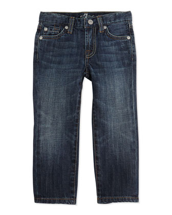 Standard NY Jeans, Dark Blue, Sizes 4-7
