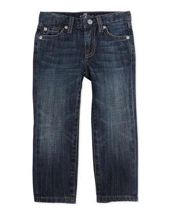 Standard NY Jeans, Dark Blue, Sizes 7-14