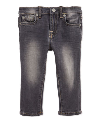 Infant Vesper Wash Denim Jeans, 12-24 Months