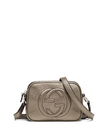Girls' Soho Leather Messenger Bag, Sasso