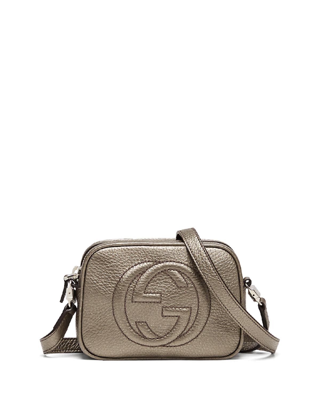 Gucci Girls' Soho Leather Messenger Bag, Sasso