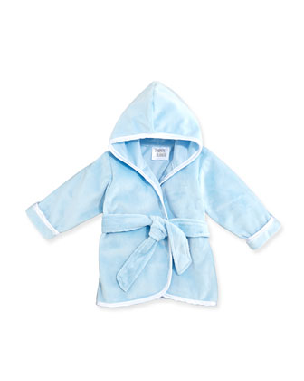 Infant Plush Robe, Blue