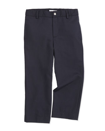 Classic Wool-Blend Pants, Kids' Navy, 2Y-10Y