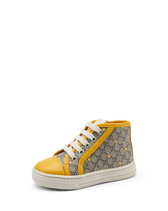 Toddler GG Star Supreme High-Top Sneaker, Yellow