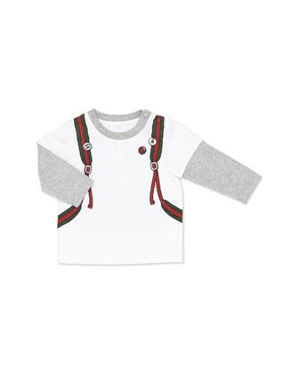 Long-Sleeve Backpack-Print Tee