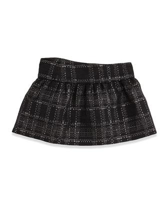 Lisbeth Jupe Tweed Bow Skirt, Sizes 2-6