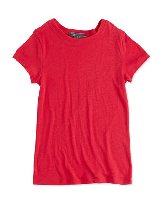 Girls' Favorite Tee, Raspberry, S-XL