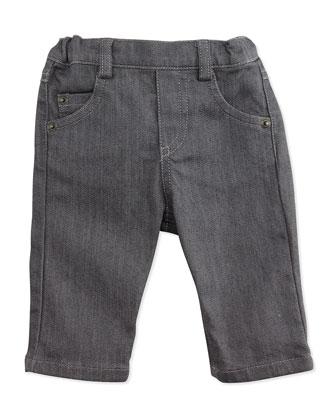 Boys' Denim Jeans, Gray, 3M-2T