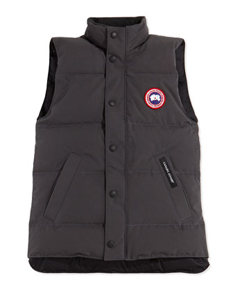 Youth Vanier Arctic-Tech Vest, Graphite, XS-XL