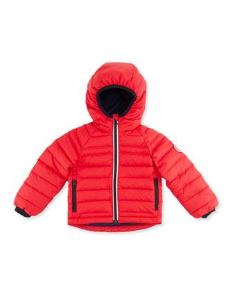 Kids' Bobcat Hooded Jacket, Red, Sizes 2-7