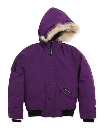 Rundle Bomber w/Detachable Fur Trim, Arctic Dusk, Youth XS-XL