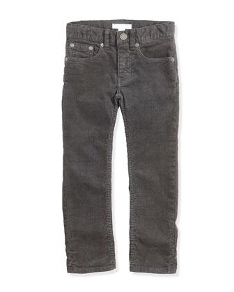 Skinny Corduroy Pants, Flint, Boys' 4Y-14Y