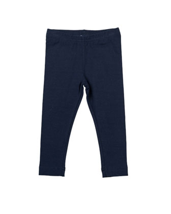 Stretch-Knit Leggings, Navy, 12-24 Months