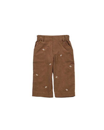 Good Sport Corduroy Pants, Camel, 2T-4T