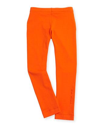 Stretch-Jersey Leggings, Sizes 2-6