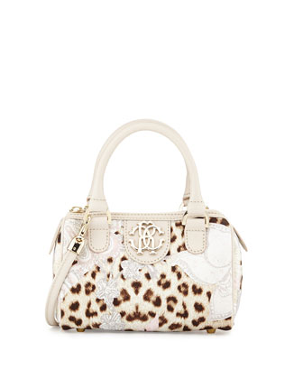 Girls' Leopard-Print Crossbody Bag