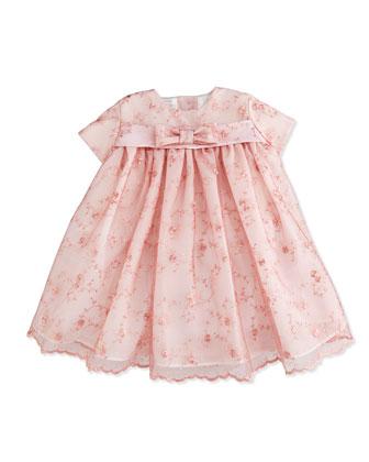 Sleeveless Lace Dress, Pink, 2T-4T