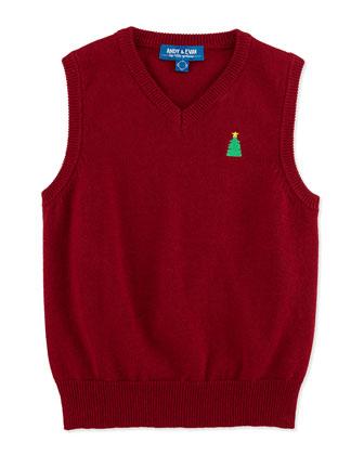 Christmas Sweater Vest, 2T-7Y