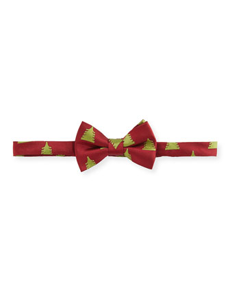 Christmas Bow Tie, Red