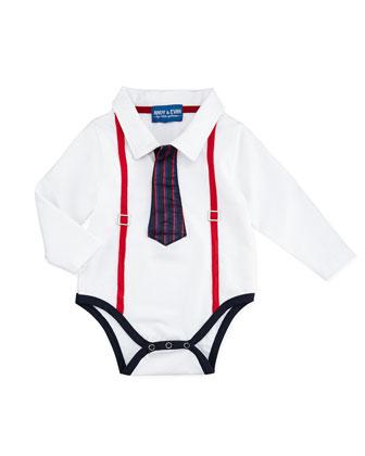 Polo Shirtzie w/Tie, 3-24 Months