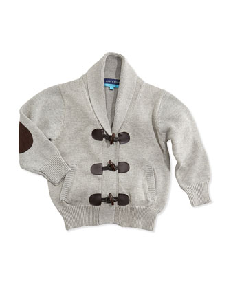Toggle-Front Cardigan, 2T-7Y