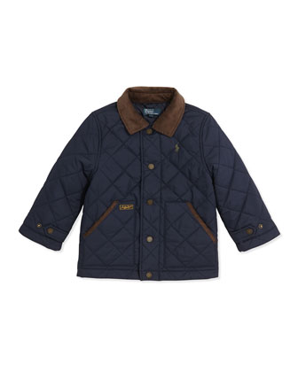 New Hagan Quilted Jacket, 2T-3T