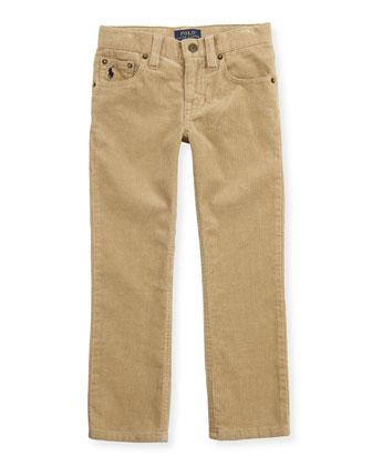 14-Wale Corduroy Pants, Tan, 2T-3T