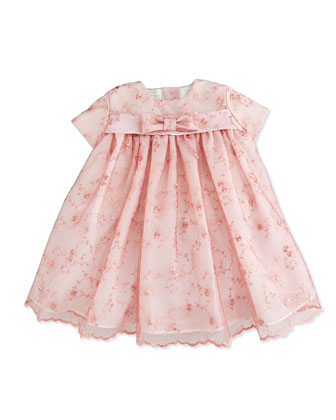 Sleeveless Lace Dress, Pink, 6-24 Months