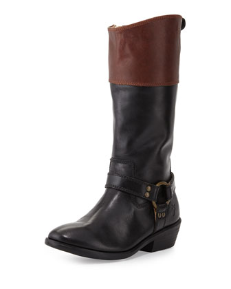 Melissa Two-Tone Harness Boot