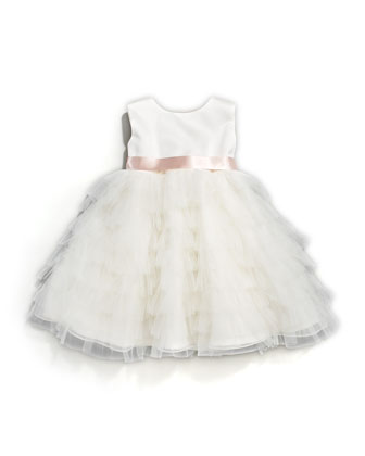 Tiered-Ruffle Dress