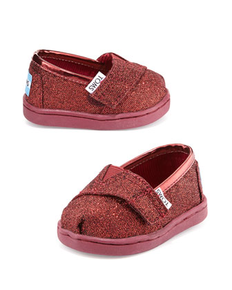 Glimmer Classic Slip-On, Red, Tiny