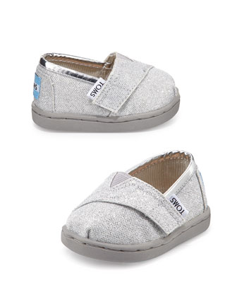 Glimmer Classic Slip-On, Silver, Tiny