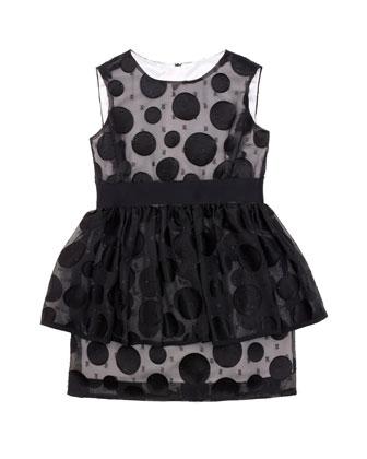 Fil Coup?? Peplum Dress, Sizes 8-14