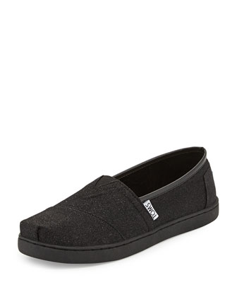 Glimmer Classic Slip-On, Black, Youth