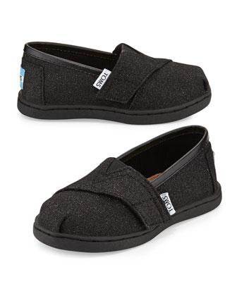 Glimmer Classic Slip-On, Black, Tiny