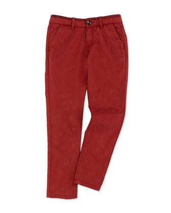 Slim Chino Pants, Sizes 2T-6T
