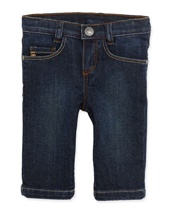 Straight-Leg Denim Jeans, Boys' 3M-3T