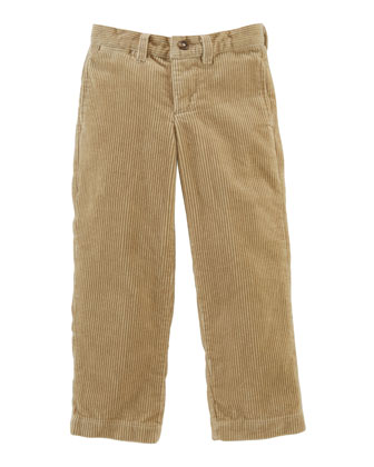 8-Wale Corduroy Pants, Khaki, Sizes 2-7