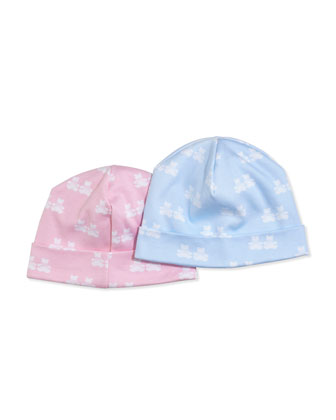 Mini Bear Cubs Hat, Pink/Blue
