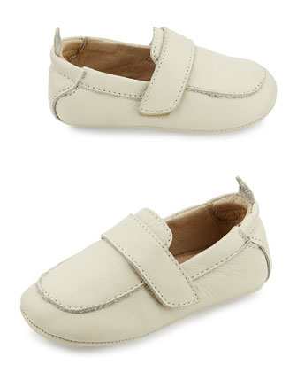 Soft Leather Loafer, Champagne, Infant/Toddler