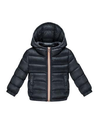 Dominic Hooded Long-Season Puffer Jacket, 12M-3Y