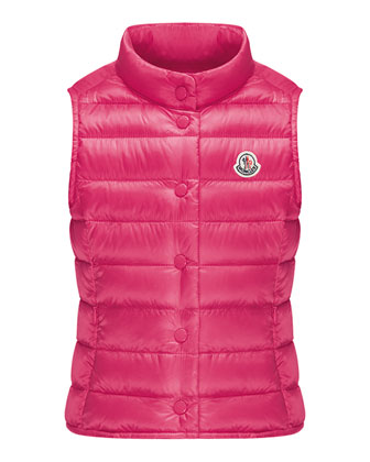 Liane Long Season Packable Vest, Sizes 4-6