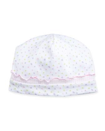 Summer Fun Polka Dot Baby Hat, Pink