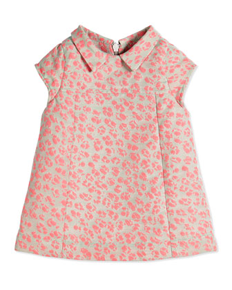 Animal Jacquard Dress & Bloomers, Pink, Size 3-18 Months