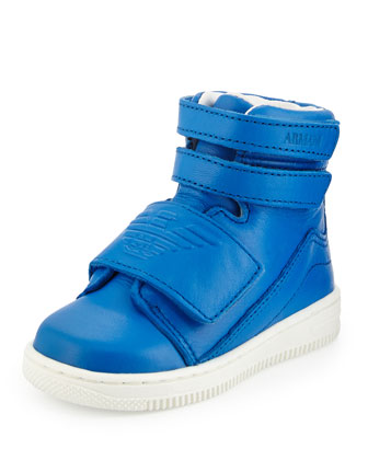 Grip-Strap High-Top Sneaker, Hydrangea
