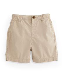 Shane Cotton Military Chino Shorts, Honey, 3M-3Y