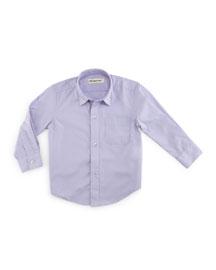 The Standard Poplin Shirt, Lavender, Size 2T-14