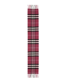 Exploded Kids' Cashmere Check Scarf