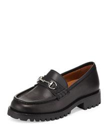 Oscar Junior Moccasin Loafer, Black