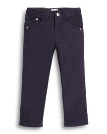 Woven Skinny Pants, Indigo, Size 2-8